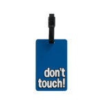TangoTag Luggage Tag - 'Don't Touch!' - Blue - HTC-TT810