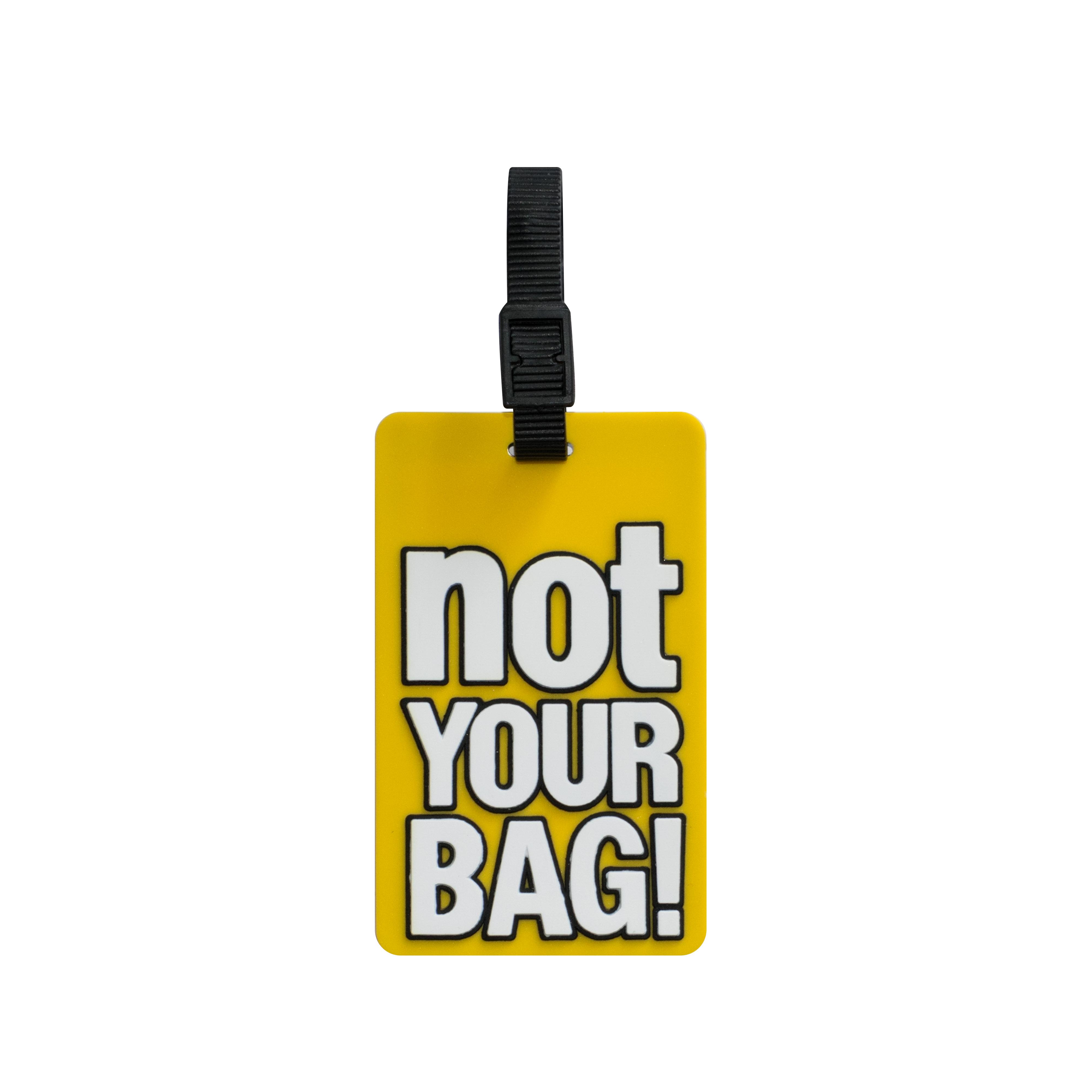 a858bb112da3 Shop TangoTag Luggage Tag - 'Not Your Bag!' - Yellow - HTC-TT813 ...