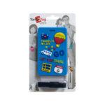 TangoTag Luggage Tag - 'Travel Is My Joy!' - Blue - HTC-TT828