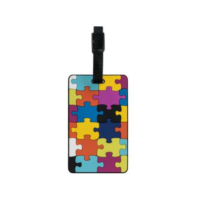 TangoTag Luggage Tag - Jigsaw Puzzle - Assorted - HTC-TT830