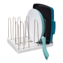 Storemore Adjustable Cookware Rack - White - YCA-09041-01-WHT