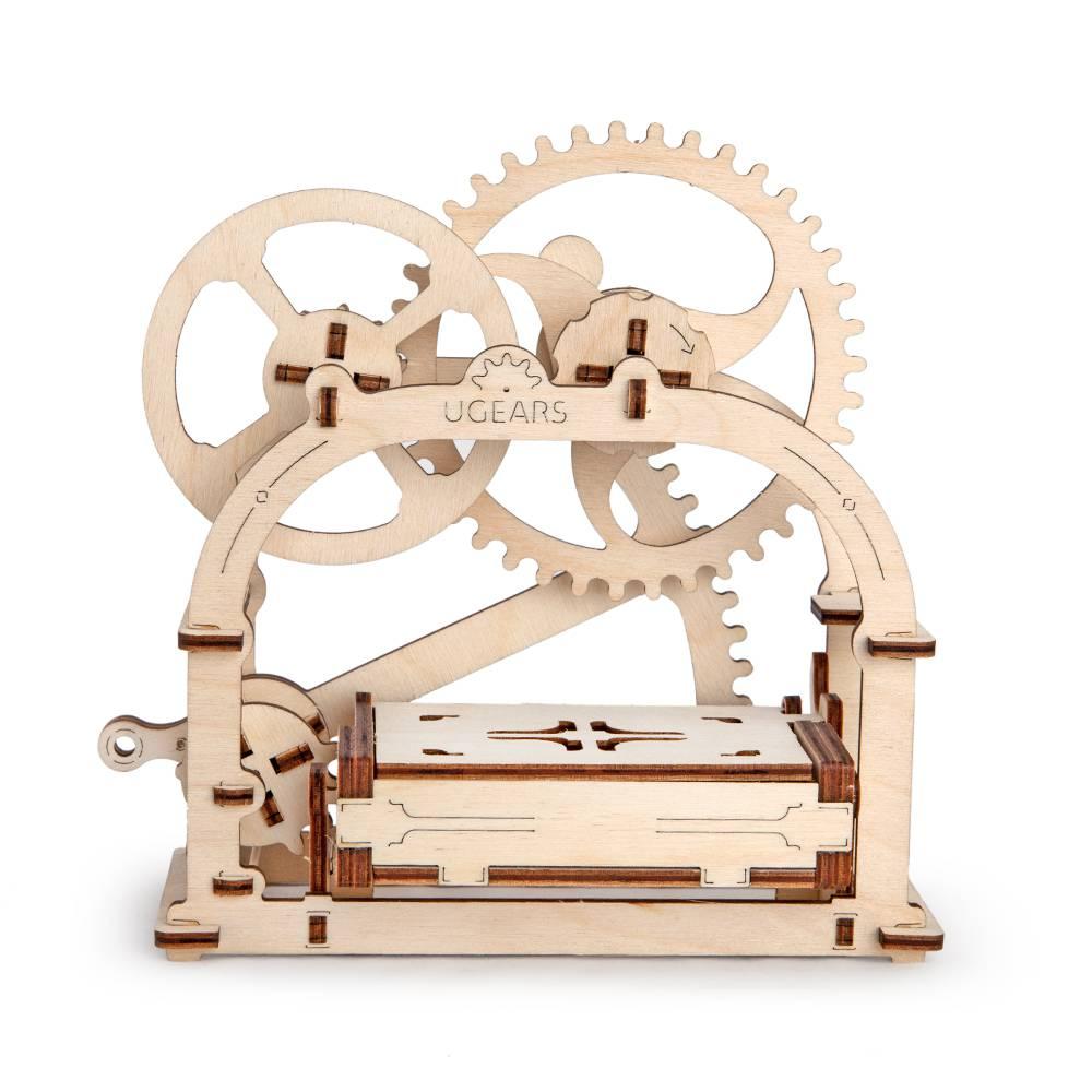 Shop Online Ugears Mechanical Box 61 Parts 3d Wooden Puzzle