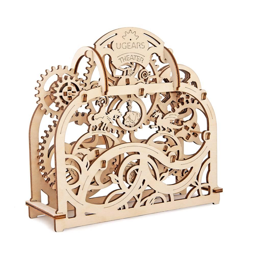 Ugears Theatre – 70 Parts – 3D Wooden Puzzle – Mechanical Model – UGR-70002