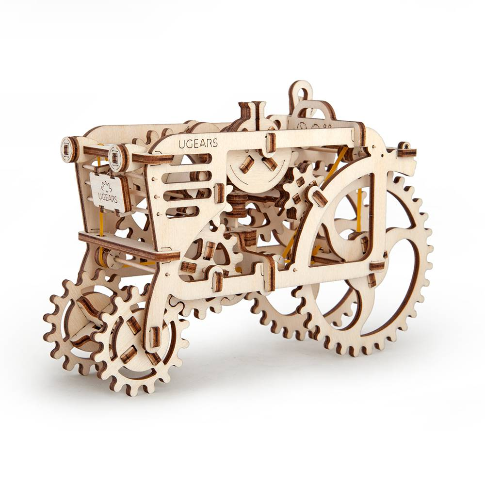Ugears Tractor – 97 Parts – 3D Wooden Puzzle – Mechanical Model – UGR-70003