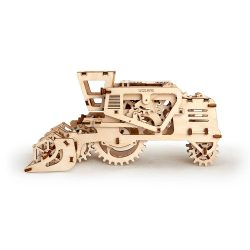 Ugears Combine Harvester - 154 Parts - 3D Wooden Puzzle - Mechanical Model - UGR-70010