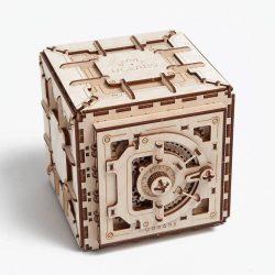 Ugears Safe - 179 Parts - 3D Wooden Puzzle - Mechanical Model - UGR-70011