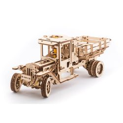 Ugears Truck UGM-11 - 420 Parts - 3D Wooden Puzzle - Mechanical Model - UGR-70015