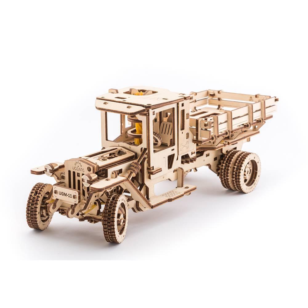Ugears Truck UGM-11 – 420 Parts – 3D Wooden Puzzle – Mechanical Model – UGR-70015