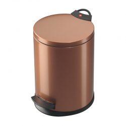 Hailo Germany - Pedal Waste Bin T2 M - 11 Litre - Copper - HLO-0513-200