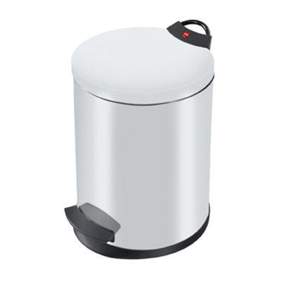 Hailo Germany - Pedal Waste Bin T2 M - 11 Litre - White - HLO-0513-429