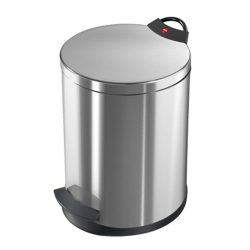 Hailo Germany - Pedal Waste Bin T2 M - 11 Litre - Anti Fingerprint - HLO-0513-034