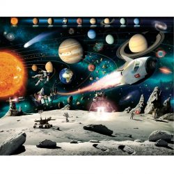 Walltastic - Space Adventure Wallpaper Mural - 12 Panels - 8 x 10 ft - WTC-41837