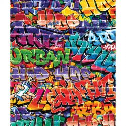 Walltastic - Graffiti Wallpaper Mural - 8 Panels - 8 x 6.6 ft - WTC-43855