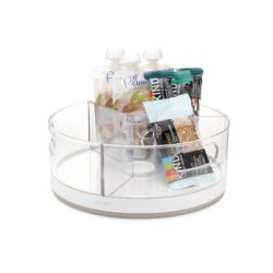 YouCopia - Crazy Susan 11 Inch - Turntable Snack Organizer with Bins - YCA-50067